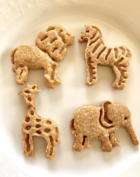 homemade animal crackers